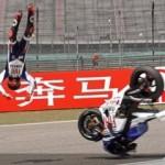 Lorenzo cidera,.. tinggal Stoner, Rossi atau Pedrosa yang bakalan juara…???
