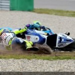 Rossi made a mistake,… Stoner was back to Business.. !!!