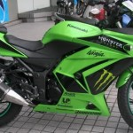 Ninja 250R Monster Energy,… lagi ngetrend di Kuala Lumpur…!!!