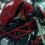 Canggih,… service motor di bengkel Ducati …!!!