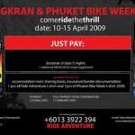High Speed Touring ke Phuket Bike Week …!!!