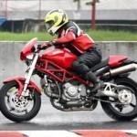Turun di babak kualifikasi,… wet race lageee …!!!