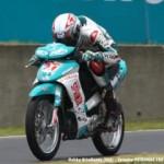 Gantiaaan,… FIM AsianGP kelas underbone 115cc… babak kualifikasi… riderz Indonesia mendominasi …!!!