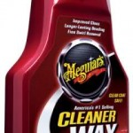 Meguiars Cleaner wax,… cleans,polishes and protects cat motor … dalam satu langkah mudah …!!!