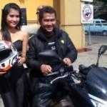 Prediksi teman,… mas tri, bikez dan wanita… penjualan motor pasti monceeer …!!!