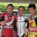Naaagh geneee,… Honda kirim 2 racers sekolah ke Suzuka Racing School …!!!
