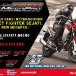 Kolaborasi Bloggerz Jakarta dan Jogja,… meriaaahkan acara touring Honda New Megapro …!!!