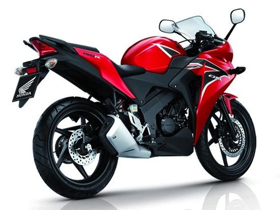 CBR 150R Red 550