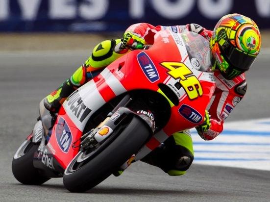 Rossi Ducati 550