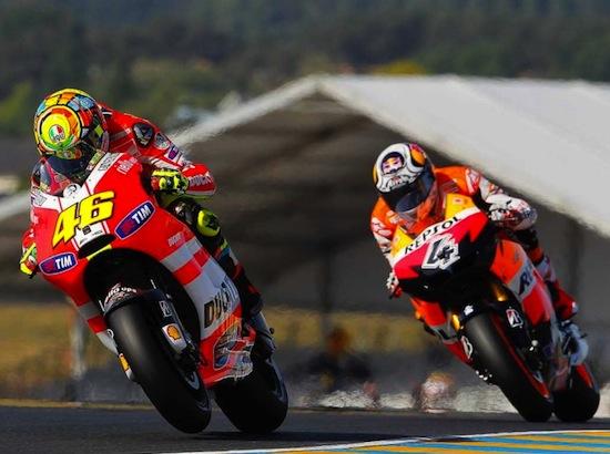 Rossi vs Dovi 550
