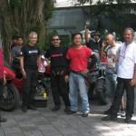 Touring mampir di Bandung,… DDOCI bakti sosial… sumbang korban longsor Ciwidey …!!!