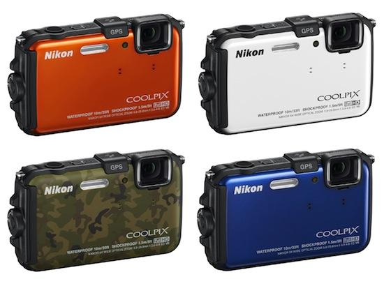 Nikon Coolpix AW100 01