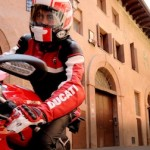 Pabrikan Ducati,… Full throttle dengan iPad …!!!