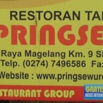 Riding Kuliner,… menikmati masakan Pringsewu Resto Jogja …!!!