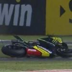 MotoGP Silverstone FP3,… Crutchlow mengalami double Crash… duel terjadi antara Marquez vs Lorenzo …!!!