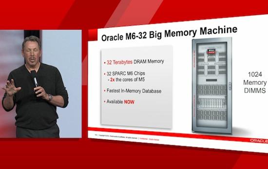 Oracle M6-32 Big Memory Machine