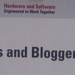 Pada ajang Oracle Open World 2013,… Press dan Blogger jadi satuuu …!!!