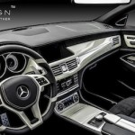 Modifikasi Interior Mercedes Benz CLS,… ala Carlex Design… coool banget …!!!