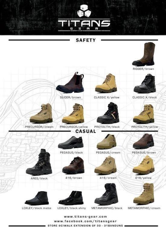 Titans-Gear sepatu okeee.... value tinggi 3f9b681e5