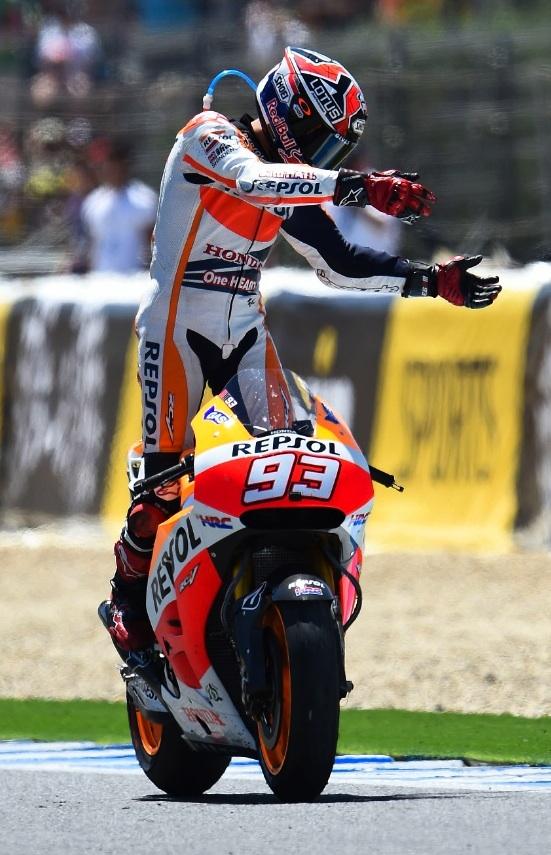 Marquez at jerez