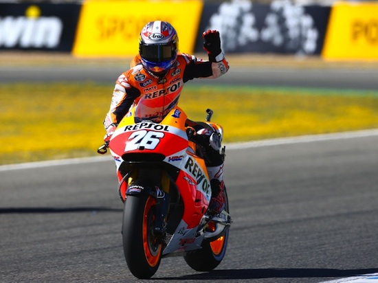 Pedrosa jerez in Action