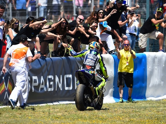 Rossi Jerez with Fanz