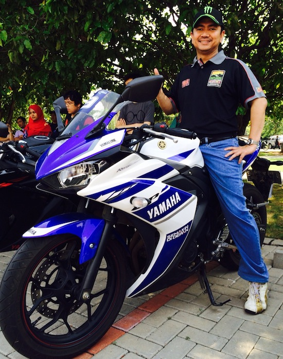 Mas Tri with Yamaha R25