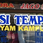 Riding Kuliner,… mencicipi Nasi Tempong Indra… manteep rasanya murah harganya …!!!
