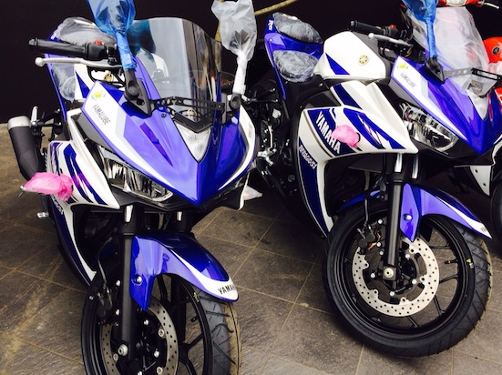 Yamaha R25 at Dealer