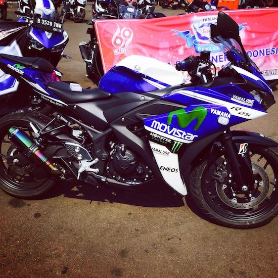 Tangki Yamaha R25