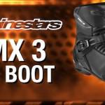 Review Alpinestars SMX 3 Boot,… pas dan nyaman dikenakan saat riding motor …!!!