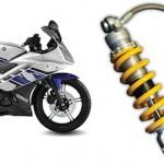 Yamaha R15 pake Ohlins,… bikin motor semakin keren… dan juooozzz dikendarai …!!!