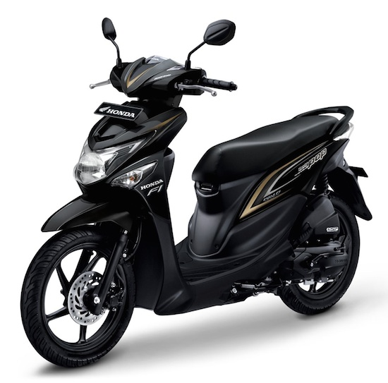 Honda Beat Pop Black