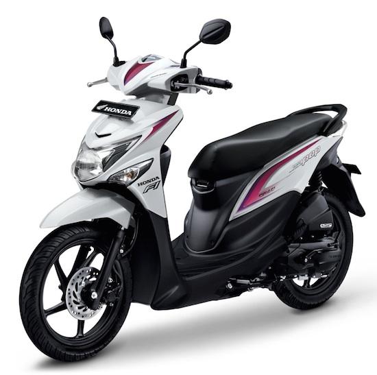 Honda Beat Pop white