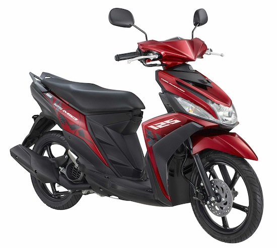 New Mio M3 125 Selfie Red