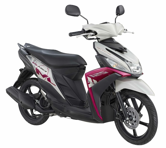 New Mio M3 125 Tweet Magenta