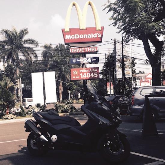 at McDonald Bogor