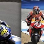 Duel Rossi vs Marquez style,… sejatineee satu guru satu ilmu …!!!