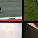 Nonton MotoGP dengan 4 layar berbeda,… manteeep langsung teringat balapan di circuit …!!!
