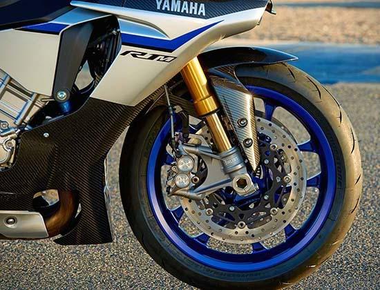 Yamaha R1M suspensi