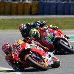 Marquez : Saya banyak mengalami persoalan dengan front end …!!!