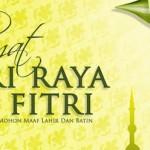 Selamat Hari Raya Idul Fitri 1439 H,… Taqabbalallahu minna wa minkum …!!!