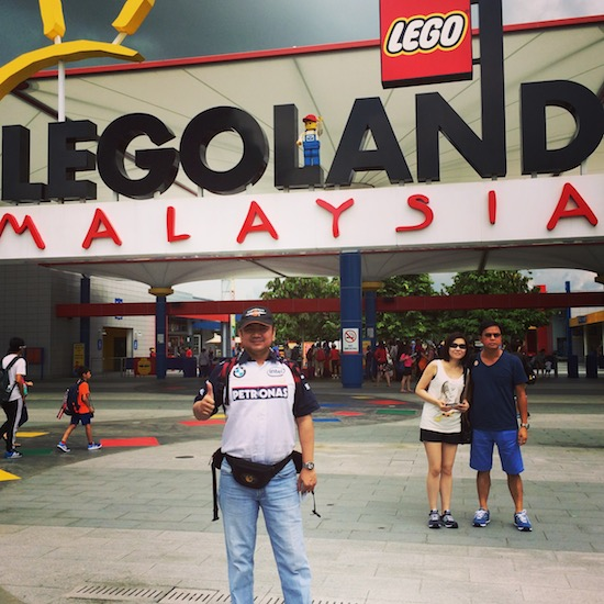 Mas Tri at Legoland 2