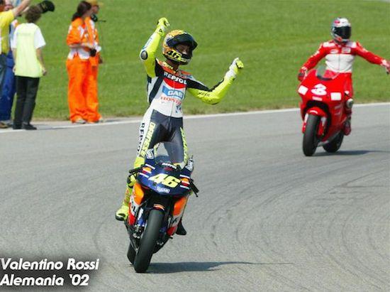 Rossi Sachsenring 2002