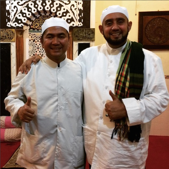 Mas Tri with Habib Syech