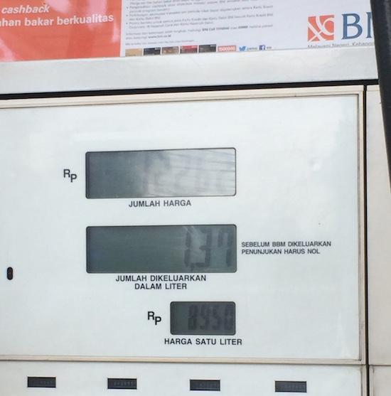 pompa bensin shell sonic 150r