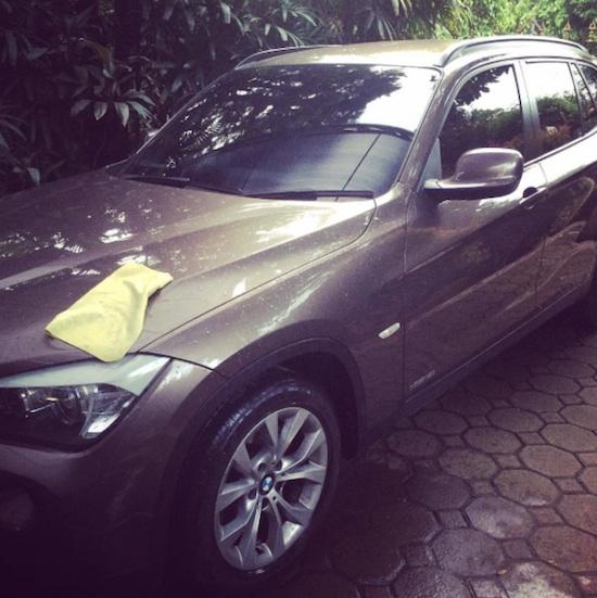 BMW X1 brown