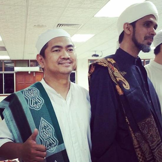 Mas Tri with Habib Ali Zaenal Abidin