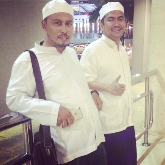 Mas Tri with Haji Ato