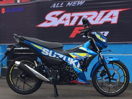 Suzuki Satria F150 Injeksi 03